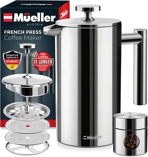 Mueller Double Insulated French Press