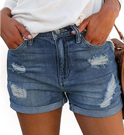 onlypuff Denim Hot Shorts