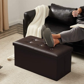 YOUDENOVA Folding Storage Ottoman