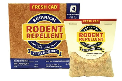 Fresh Cab Botanical Rodent Repellent (4-Pack)