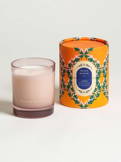 Voyage Orange Blossom & Amber Scented Candle