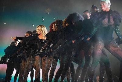 Beyoncé in d.bleu.dazzled