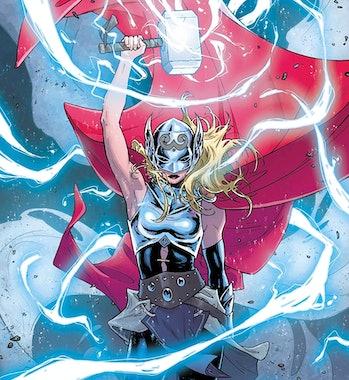 marvel comics thor 4 jane mighty thor