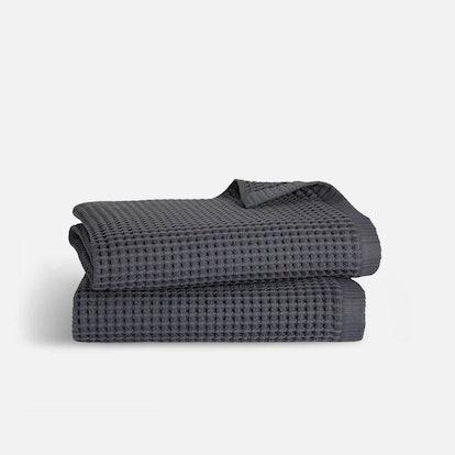 Waffle Bath Towel Bundle