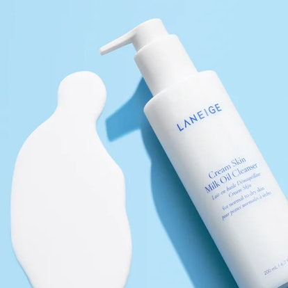 Laneige's new Cream Skin Milk Oil Cleanser.
