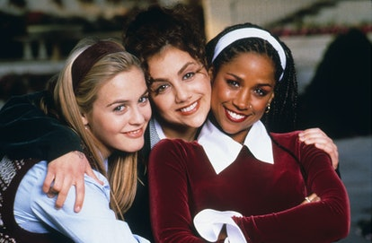 The three main characters wore headbands for an iconic beauty moment in the movie Clueless