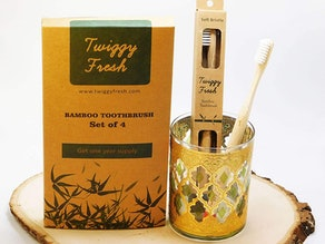 Twiggy Fresh Bamboo Toothbrush