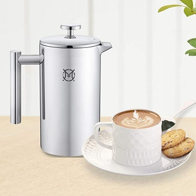 Magicafé Stainless Steel French Press (24 Ounces)