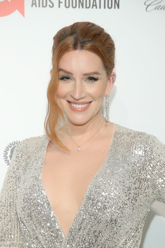 Our Lady J attends the 28th Annual Elton John AIDS Foundation Academy Awards Viewing Party sponsored by IMDb, Neuro Drinks and Walmart on February 09, 2020 in West Hollywood, California.