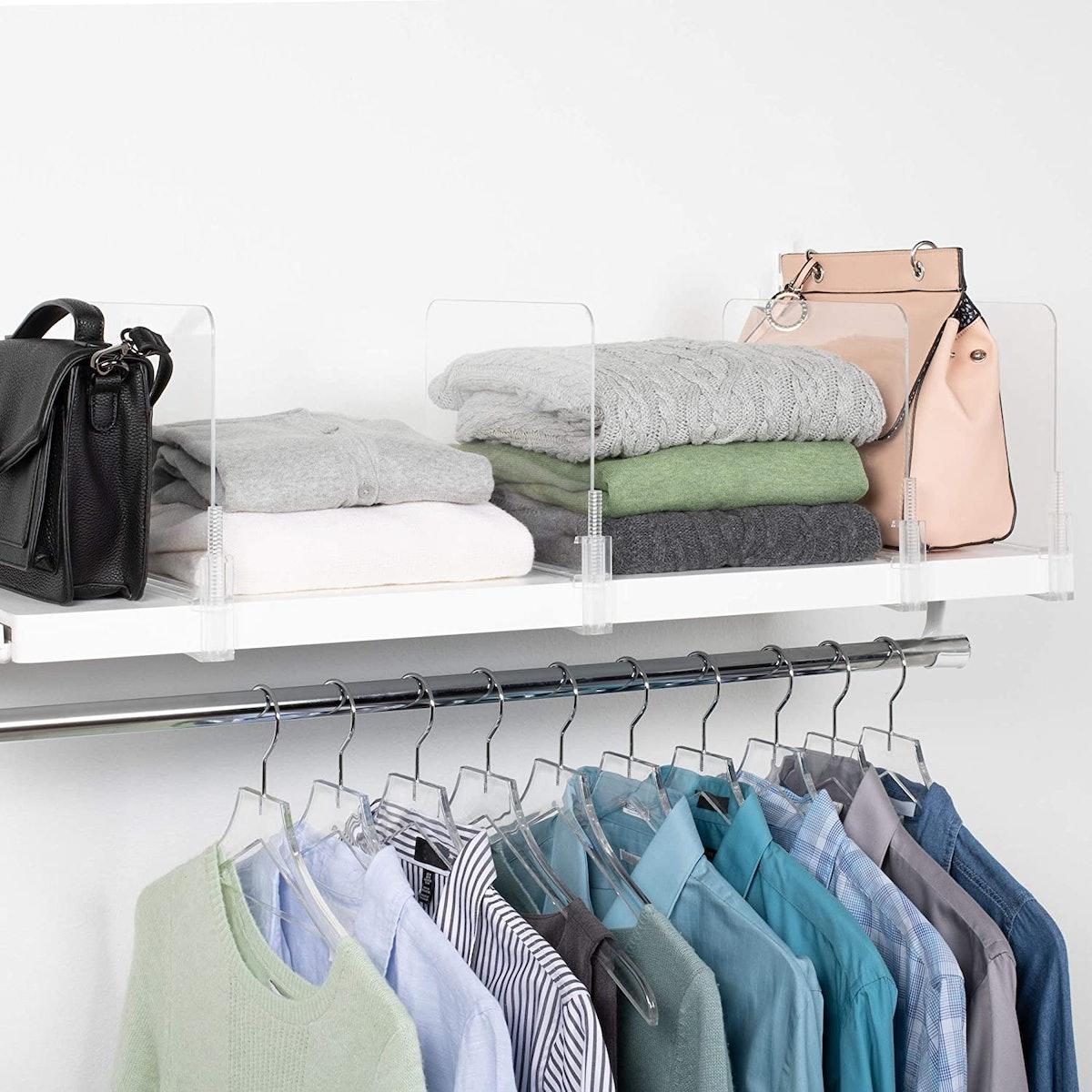 Richards Homewares Shelf Dividers (6-Pack)