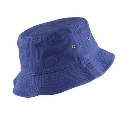 The Hat Depot 100% Cotton Bucket Hat