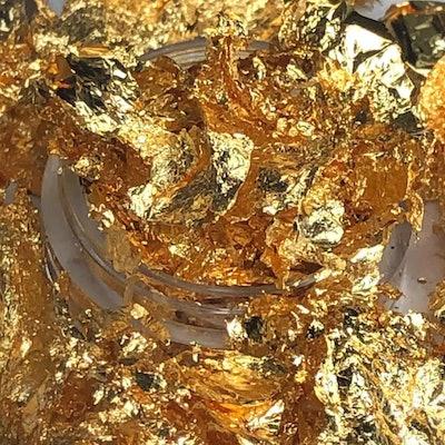 Midas Touch Gold Flakes