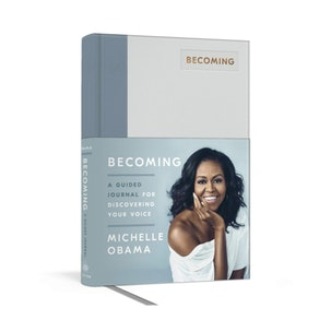 Michelle Obama Becoming: A Guided Journal for Discovering Your Voice