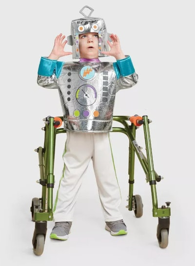 Toddler Adaptive Robot Halloween Costume