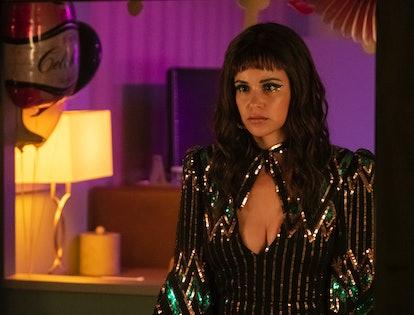 Melissa Fumero as Eva in 'Room 104'