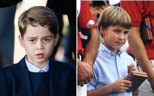 If you look closely at Prince George's seventh birthday photos, you will probably be amazed at just ...