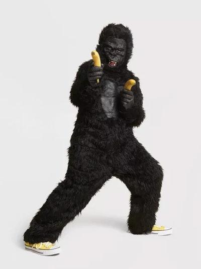 Kids' Deluxe Gorilla Halloween Costume Jumpsuit