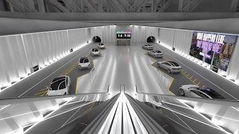 The Boring Company's Las Vegas tunnel.