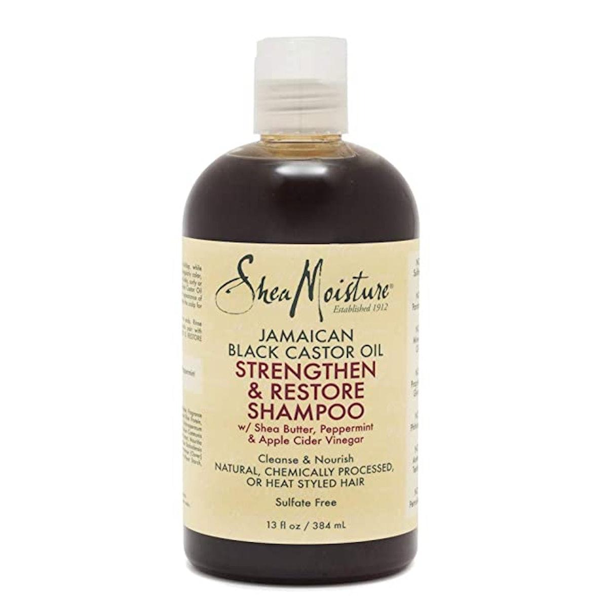 Shea Moisture Jamaican Charcoal Shampoo