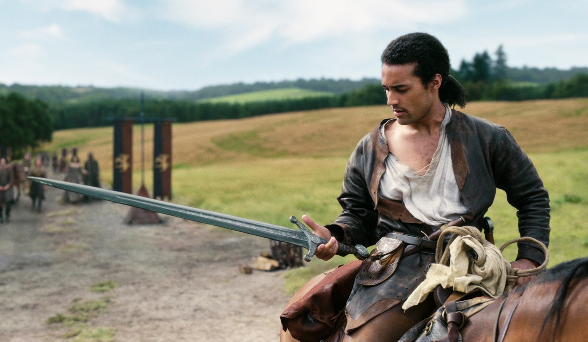 King Arthur in 'Cursed'