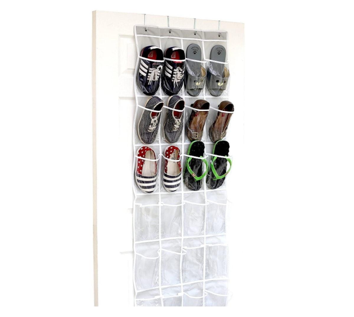 Simple Houseware Over-The-Door Shoe Organizer