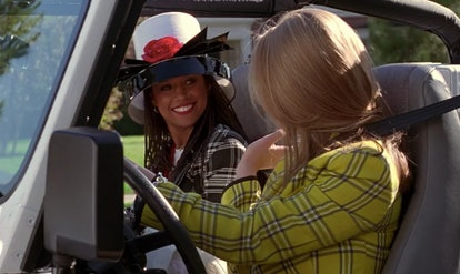Dionne's flower hat was an iconic beauty moment in the movie Clueless