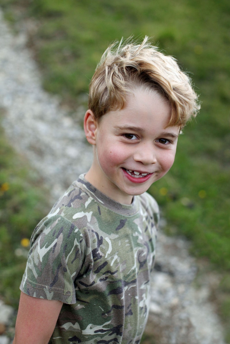 A new picture of Prince George to mark his 7th birthday.