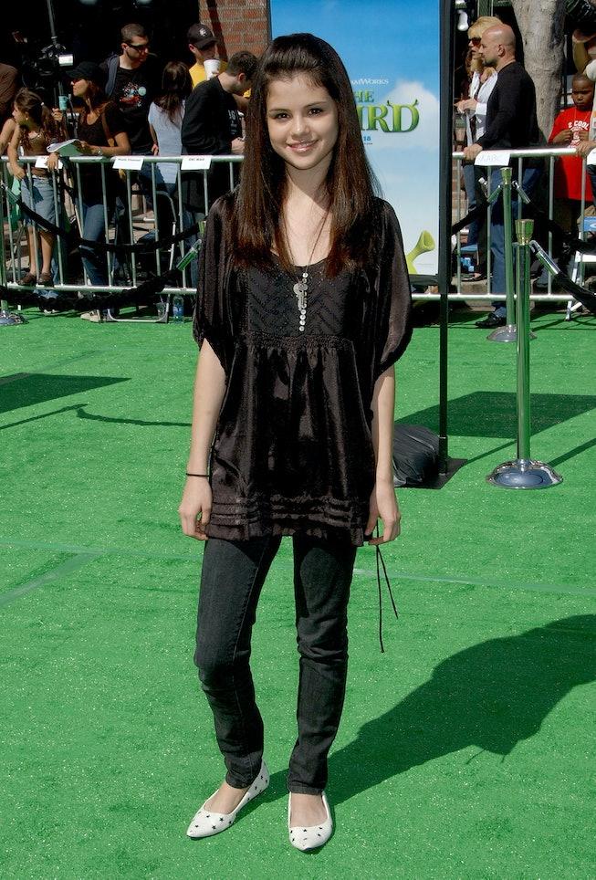 Selena Gomez in 2007, Shrek The Third Premiere