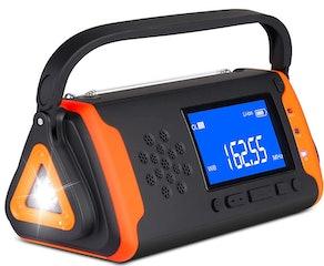 Givoust Emergency Weather Crank Radio
