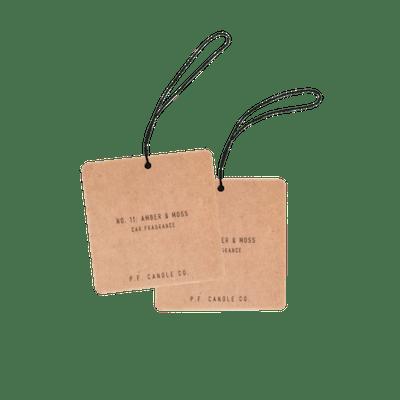 Amber & Moss Car Fragrance (2 Pack)