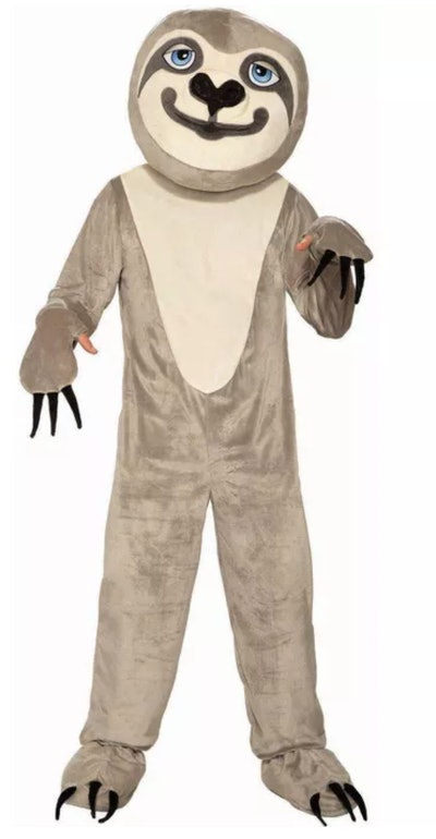 Adult Sloth Mascot Halloween Costume