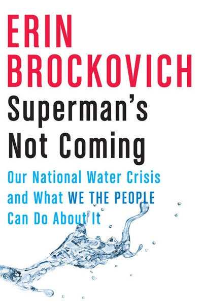 'Superman's Not Coming: Our National Water Crisis and What We the People Can Do About It' by Erin Brockovich