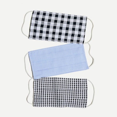 J.Crew Pack of Three Nonmedical Face Masks
