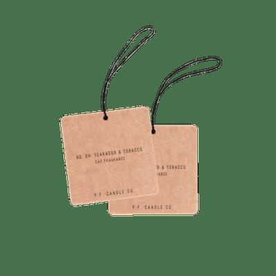Teakwood & Tobacco Car Fragrance (2 Pack)