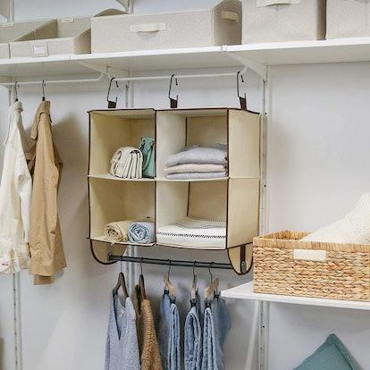 StorageWorks Hanging Closet Organizer
