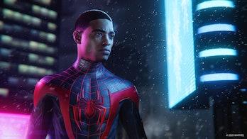 marvel's spider-man miles morales ps5 suit