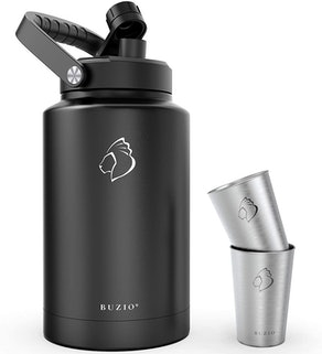 BUZIO Stainless Steel Water Bottle (1-Gallon)