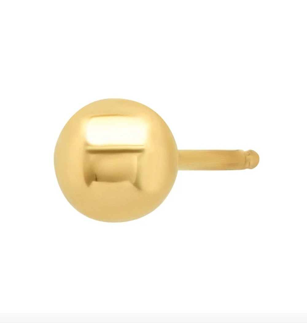 Small Classic Ball Earring