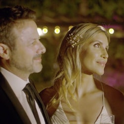 A still from Lifetime's Her Deadly Groom.