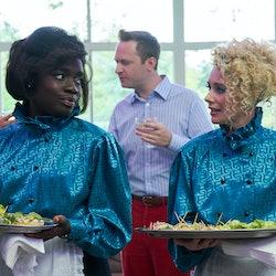 Madeleine Appiah & Kellie Shirley in In The Long Run.
