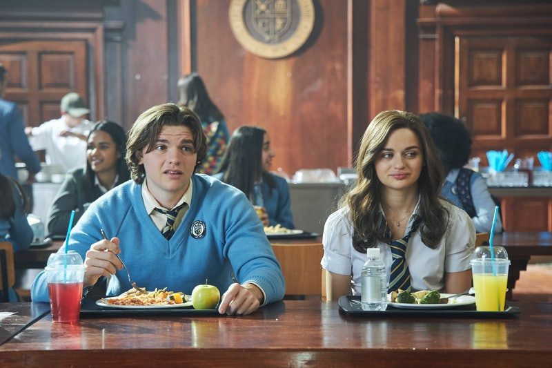Joey King and Joel Courtney in 'The Kissing Booth 2'