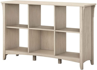 Bush Furniture Salinas 6 Cube Organizer