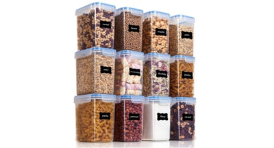 Vtopmart Airtight Food Storage Containers (12-Pack)