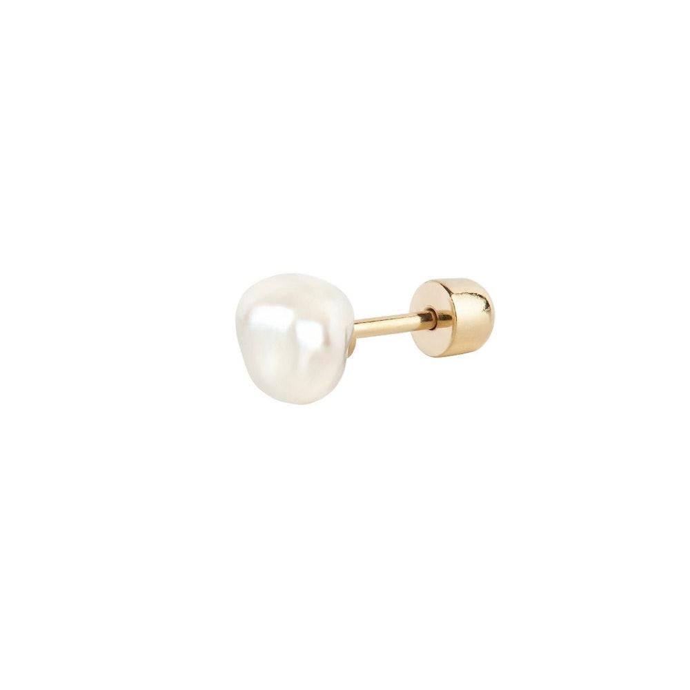 Baroque Helix Stud Earring