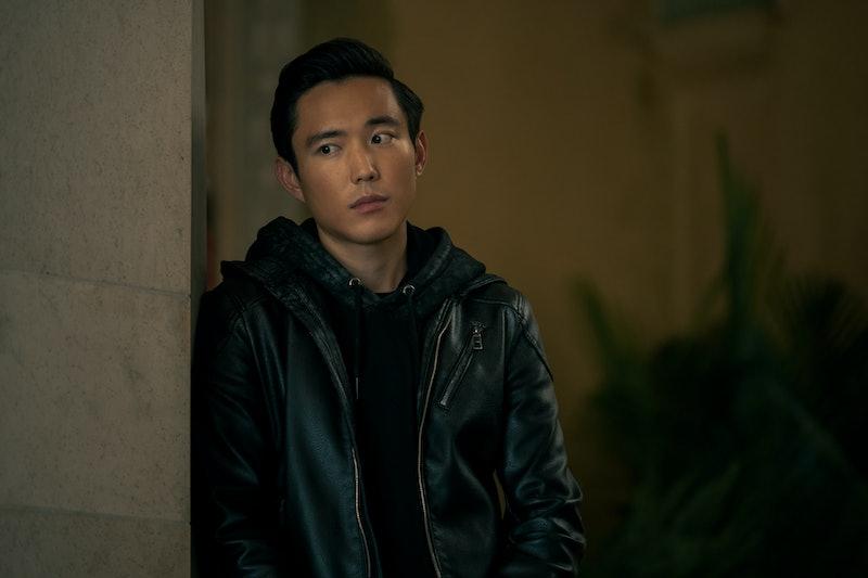 Ben in 'The Umbrella Academy,' via the Netflix press site.