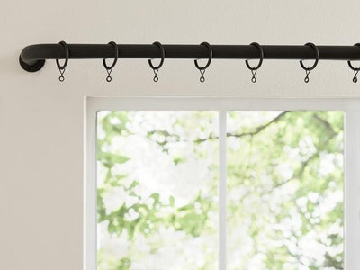 Curtain Rings with Hooks