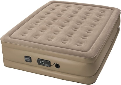 Insta-Bed Raised Air Mattress With Never Flat Pump, Queen-Size