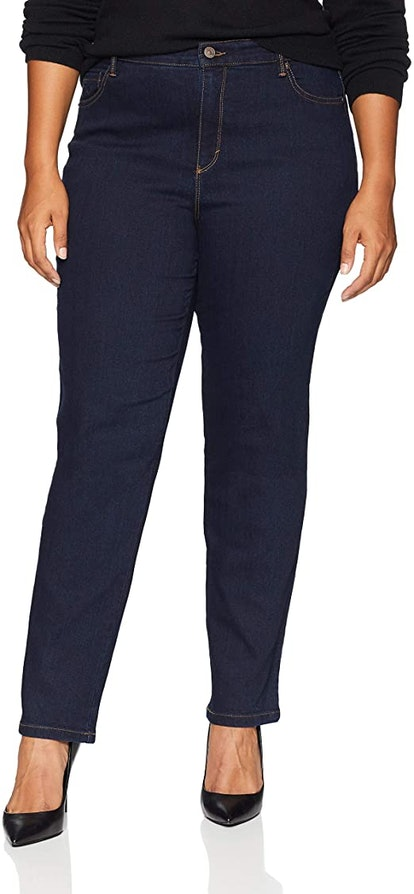 Gloria Vanderbilt Amanda High Rise Tapered Jean