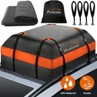 FIVKLEMNZ Car Roof Bag Cargo Carrier