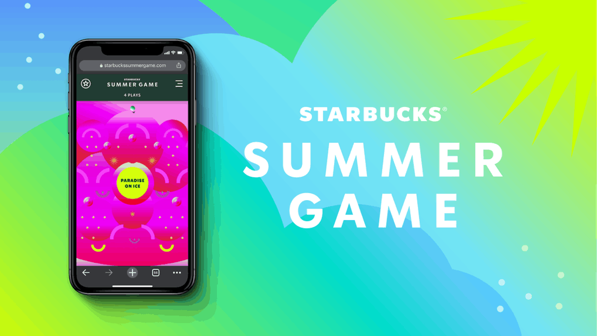Here's how to get free plays for Starbucks' Summer 2020 Game for a chance to win.